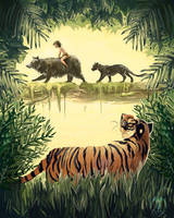 Jungle Book by D-o-b-e