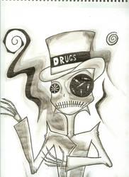 drug skull by theseedofdeath