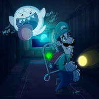 You have won a Mansion Luigi by Torogoz