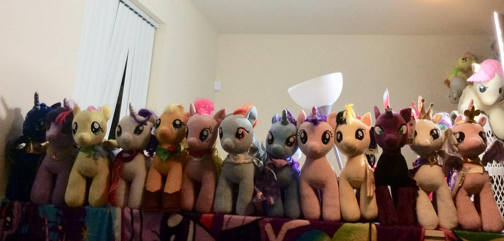 My little Pony build a bear collection by PlushMaker101
