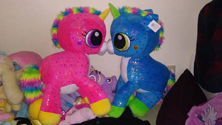 30inch unicorn in love by PlushMaker101