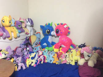 What my bed look like by PlushMaker101