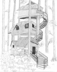 TreeHouse by electricTwilight