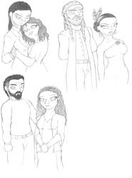 Olympian Couples by ShadowMan-DDT