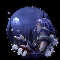 Moonlight Roses by FloatySkye