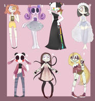 Mixed adopts! (open) by YukuAdopts