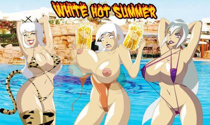 White Hot Summer by catsprin