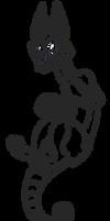 Free line art base - Canine Skullzter by Smallblacksticky