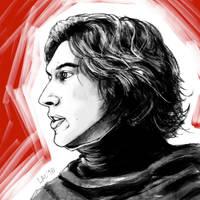 Prince Kylo doodle by missxlau
