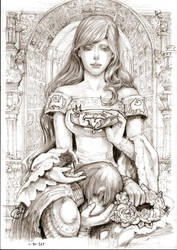 Lyanna Stark Game of Thrones by DubuGomdori