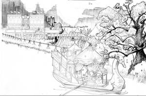 Game of Thrones The Reach Pleasure Barge by DubuGomdori