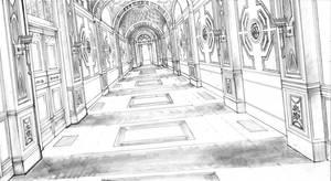 Kings Landing Hallway by DubuGomdori