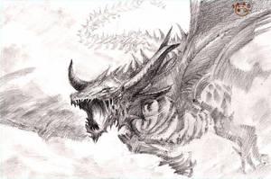 Cloud Dragon by DubuGomdori