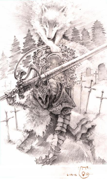 Artorias Dark Souls by DubuGomdori