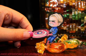 Me vs. Captain America by AngelicFoodCake
