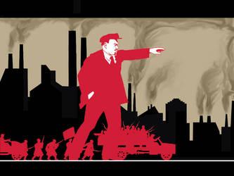 Vladimir Lenin by Voskhod