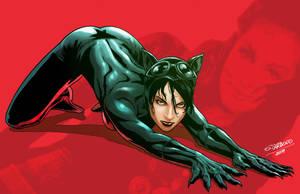 Catwoman by SebastianCardoso