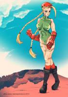 Cammy - Street Fighter II by Keatonprincess