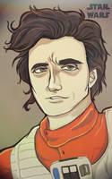 Poe Dameron by Keatonprincess