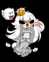 Chibi Princess Boo by TakkuNoTori