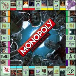 Monopoly Zombie Edition by GunknJunk