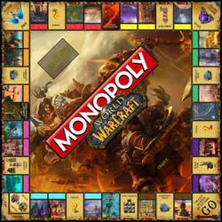Monopoly World of Warcraft by GunknJunk