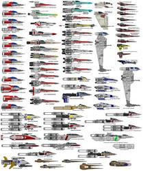 Star Wars Fighter Chart by MarcusStarkiller