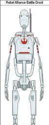 Rebel Alliance Battle Droid by MarcusStarkiller