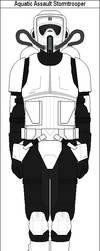 Aquatic Assault Stormtrooper by MarcusStarkiller