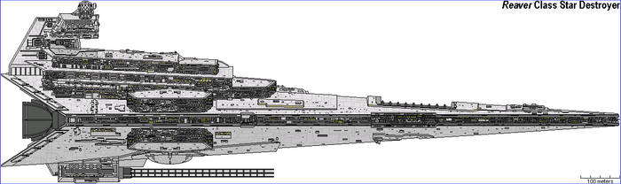 Reaver Class Star Destroyer by MarcusStarkiller