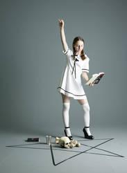 Student Witch - 3 by mjranum-stock