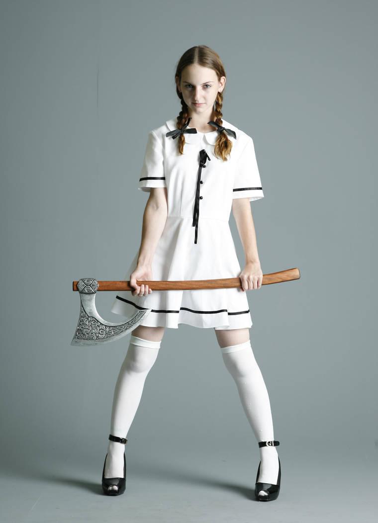 Student Witch - 5 by mjranum-stock