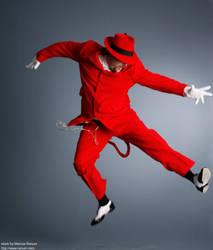 Jump Devil by mjranum-stock