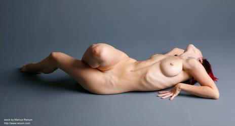 Art nudes - Y - 8 by mjranum-stock