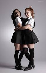 Bad Schoolgirls - 4 by mjranum-stock