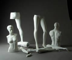 Mannequin Parts by mjranum-stock