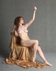 savage queen nude queenly by mjranum-stock