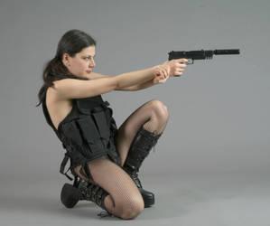 Agent Hott - 2 by mjranum-stock