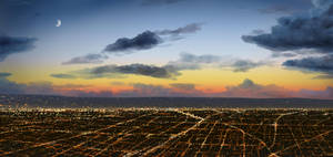 L.A. Lights by Adam-Varga