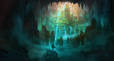 The Caverns by Adam-Varga
