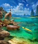 Tropical Paradise by Adam-Varga