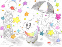 raining stars by keke74100