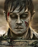 Stone Bust: Barnabas Collins by TheMaddhattR