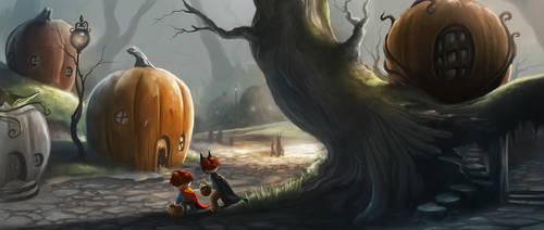 PumpkinVille by TheMaddhattR
