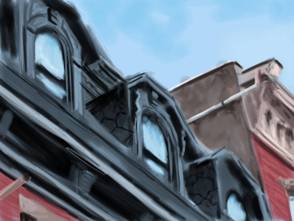 Architecture sketch (35 min) by TheMaddhattR