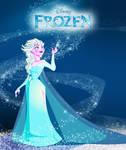 Frozen Elsa forever by LittleMiky