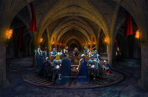 Knights of the Round Table by Eithnne