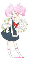 ChibiUsa:: Little Bunny by kissai