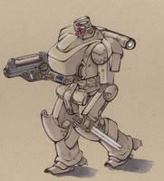 Conudyne Ogre Powered Armour by Jepray