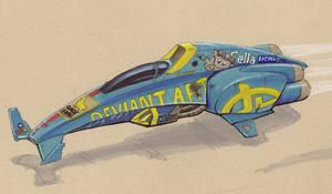 hover racer RaE 511 by Jepray